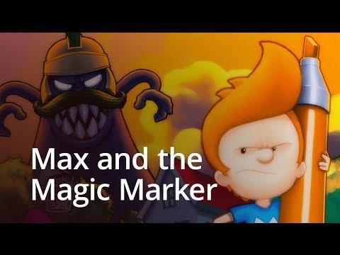 Max & the Magic Marker - сказ о чудо-маркере