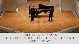 Bartók Contrasts trio for Violin, Clarinet and Piano at the Berlin Phil.