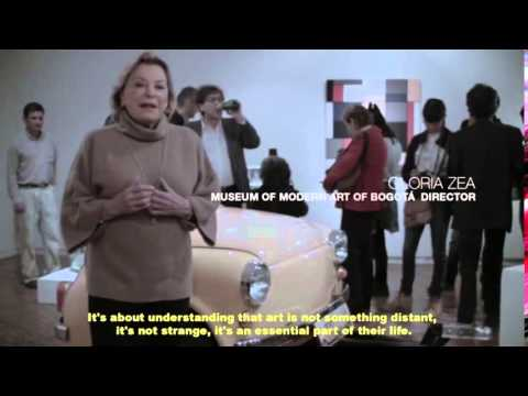 MAMBO MUSEUM OF MODERN ART OF BOGOTA  YOUR HOUSE, YOUR MUSEUM on Vimeo1