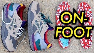 """""""Get Wet"""" Bodega x Asics Gel Lyte V On-Feet"""