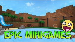 Playing Epic Minigames/My First Lets Play/Roblox