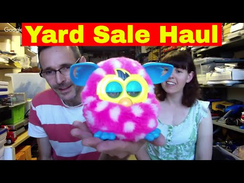 Yard Sale Trail haul & Reselling Chat - How to make money on ebay