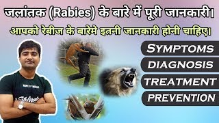 Gambar cover रेबीज क्या है? What is Rabies? Symptoms | Diagnosis | Treatment | Hindi