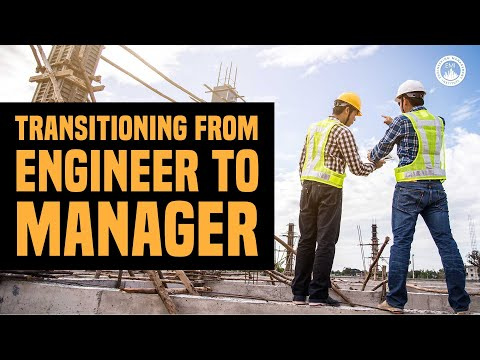 Transitioning from engineer to manager - Engineering Career TV Ep.  3