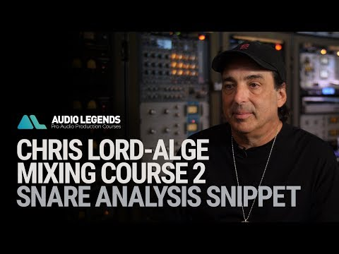 Chris Lord-Alge - Techniques For Mixing Snare Drum