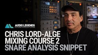 Chris Lord Alge - Techniques for Mixing Snare Drum