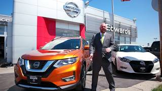 2018 Nissan Rogue SL Edition in Monarch Orange