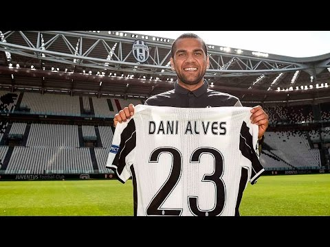 Dani Alves' first two days at Juventus - Los primeros dias de Dani Alves en la Juventus