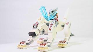 Легенда Волка.Лего Чима. Обучающие мультики и развивающие видео сборки Лего конструктора.