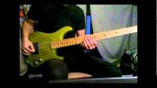 YES - Chris Squire - Siberian Khatru - Bass cover