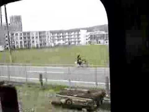 倉敷回岡山回程的火車