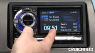 alpine ixa w404 digital media receiver   crutchfield video