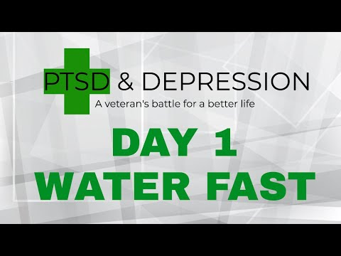 Day #1 | Water Fasting For Depression & Anxiety | The Drug Free Holistic Alternative