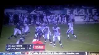 Eagles Vs Ravens 2015 Preseason Commercial Break End of 3rd