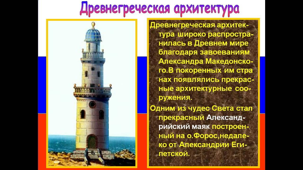презентация греции архитектура