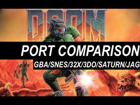 Console Doom Port Comparison