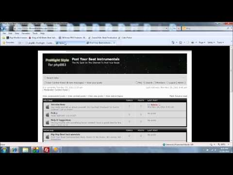 How To Add Install A phpbb Forum On A Godaddy Hosted Website Setup Part 2