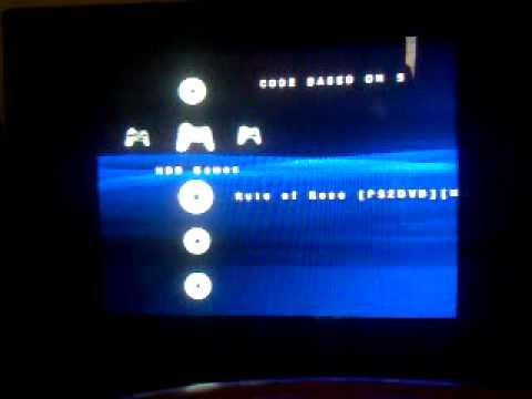 Open ps2 loader 0. 9 + fmcb on fat ps2 youtube.