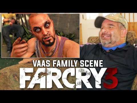 Dad Reacts To Far Cry 3 - Vaas Family Speech (Saving Liza)