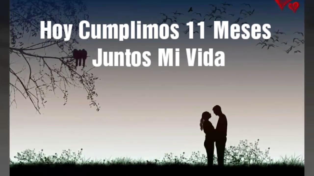 Gracias Por Estos 11 Meses Mi Amor