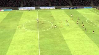 Roma vs Chievo Golo de Paredes