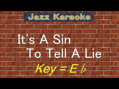 "JazzKara  ""It's A Sin To Tell A Lie"" (Key=Eb)"