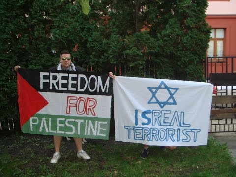 Free Palestine - Support from the Czech Republic 2014