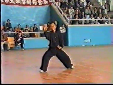 Maître Zheng Xu Dong - Taichi style Chen - Démonstration Luoyang