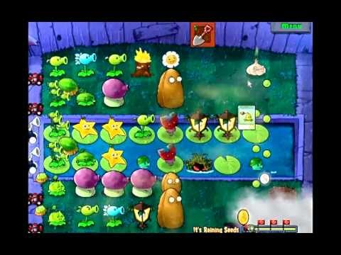 [Plants VS Zombies] Mini-Games - #4 It's Raining Seeds