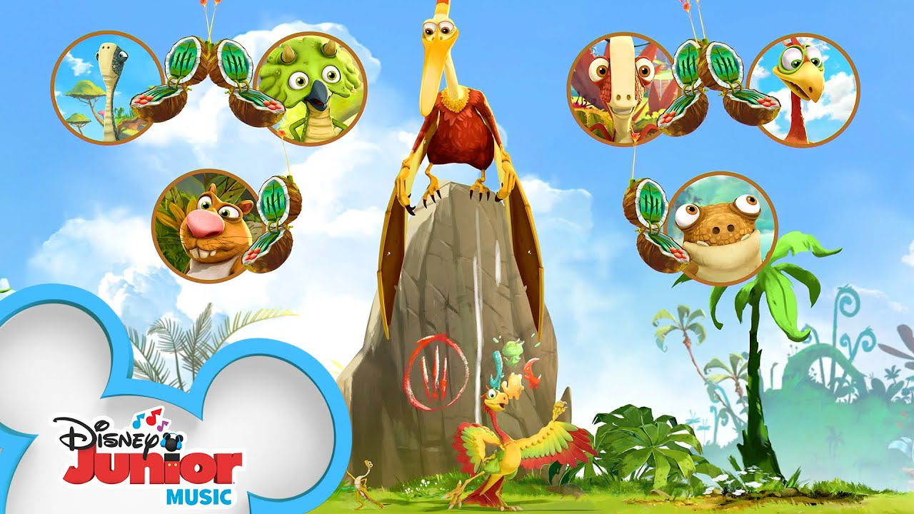 Cocophone   Music Video   Gigantosaurus   Disney Junior