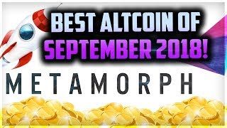 THIS ALTCOIN WILL MAKE YOU RICH IN 2019!   METM TOKEN   METAMORPH UPDATE