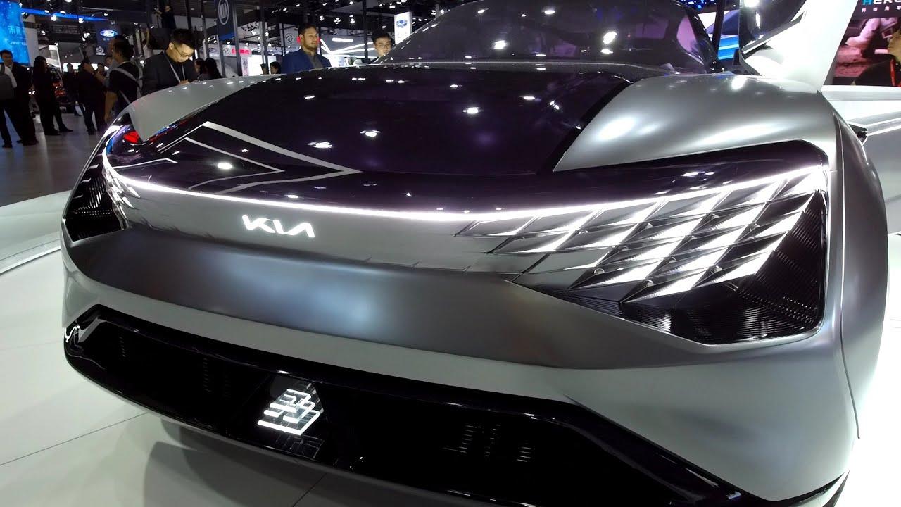 Kia S New Electric Coupe Suv Concept Futuron Youtube