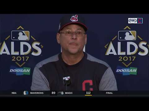 Terry Francona post-game interview | Indians vs. Yankees ALDS Game 1
