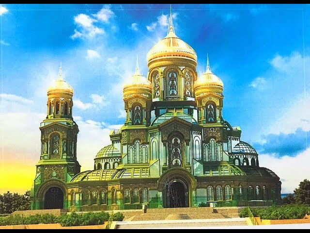 Christianity Rising: Russia is Building a Military Church!!!