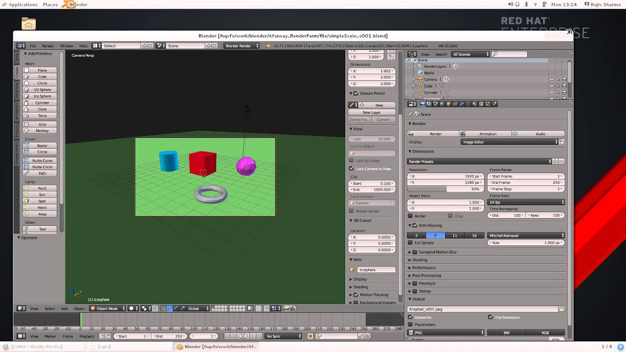 INSTALL CGRU AFANASY - Free And Open Source RenderFarm Software