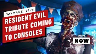 Resident Evil 2 Tribute Daymare: 1998 Coming To Ps4, Xbox One - Ign Now