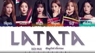 Baixar G-IDLE ((여자)아이들) – 'LATATA' (English Ver.) Lyrics [Color Coded_Eng]