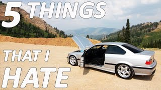 5 THINGS I HATE About The E36 M3  **I Should Have Bought a 350z**