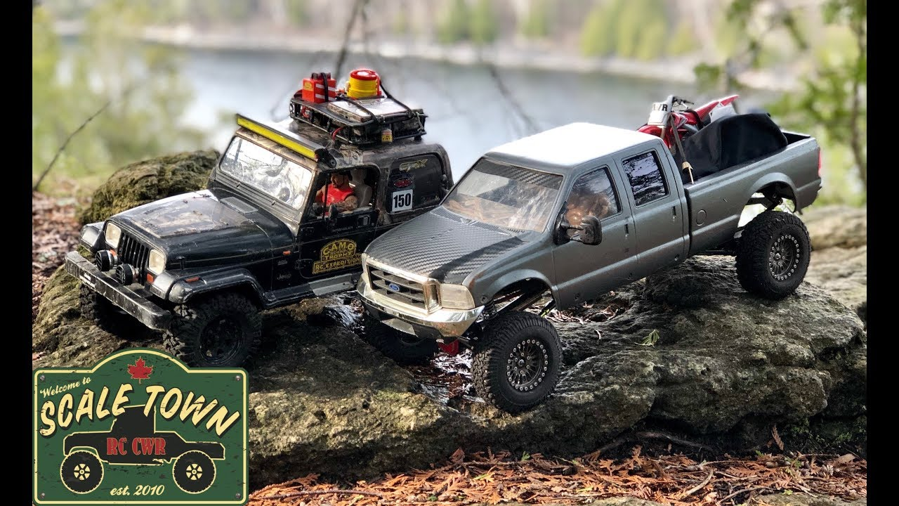 Jeep And Ford Expedition By Scale Town Rc Cwr By Scale Town