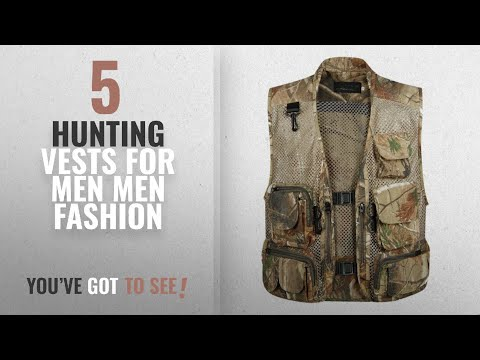 Top 10 Hunting Vests For Men [Men Fashion Winter 2018 ]: Gihuo Men's Outdoors Utility Hunting