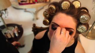 katehayesmakeup tutorial smokey eyes and kardashian contouring