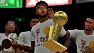 NBA 2K15 MyCAREER Finals - NBA CHAMPIONS!! The FINALE! 4x NBA CHAMPION, 4x FINALS MVP!!