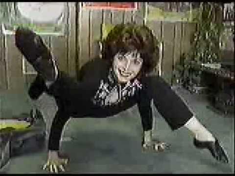 April Tatro Showing Her Flexibility Youtube