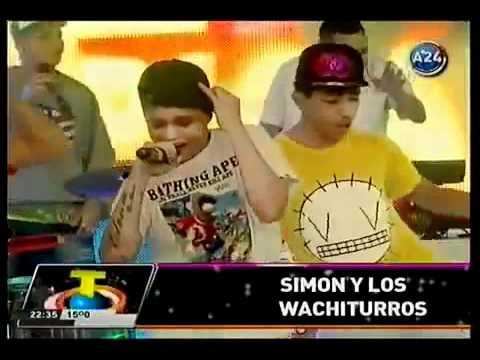 Debut Simón & Los Wachiturros en Tropicalisima TV - 2/6/2012