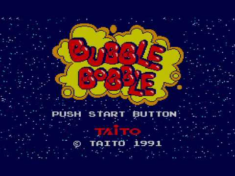 Bubble Bobble Master System In-Game Music