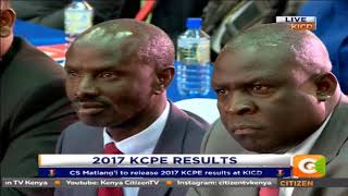 We sincerely congratulate you for being elected in parliament- Matiangi to Sossion