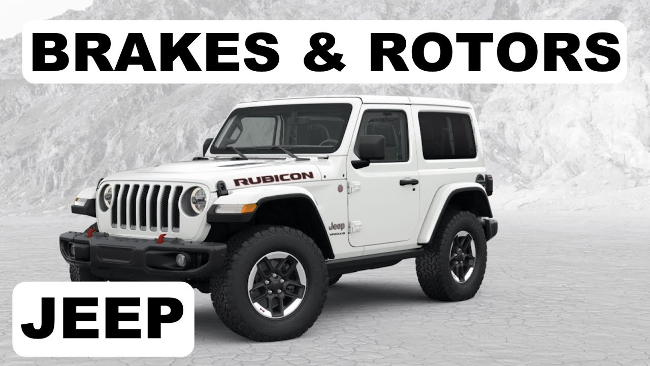 Jeep Wrangler Brakes and Rotors Replacement DIY