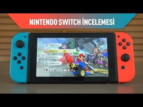 Nintendo Switch Oyun Konsolu  İncelemesi