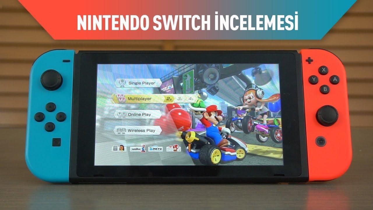 Nintendo Switch Oyun Konsolu Incelemesi Youtube