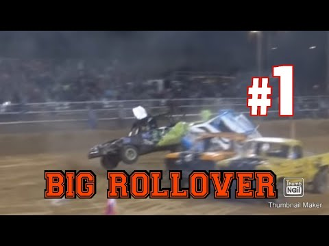 Paul Cox with a BIG ROLLOVER!!!!